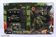Детский военный набор Operation Military, 1828-33A, купить