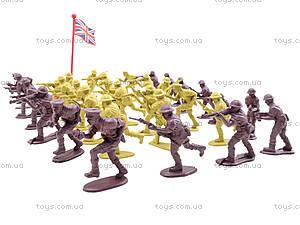 Военный набор солдатиков, 88 элементов, 8020, детские игрушки