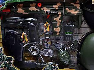 Военный набор Combat force, с автоматом и каской, 33560, цена