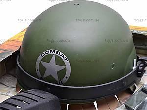 Военный набор Combat force, с автоматом и каской, 33560, игрушки