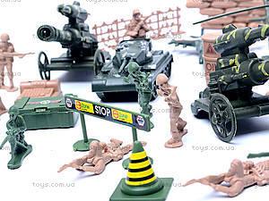 Военный набор для детей, с солдатиками, 0119A, отзывы