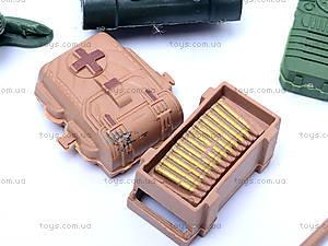 Военный набор для детей, с солдатиками, 0119A, магазин игрушек