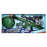 """Военный набор """"Justice Force"""" (зеленый), M019, тойс"""