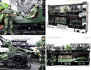 Детский военный набор с солдатами, KD008-3