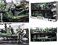 Игровой набор с солдатиками «Спецотряд», KD008-6