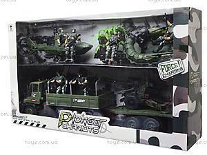 Игровой набор с солдатиками «Спецотряд», KD008-6, детские игрушки