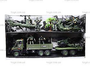 Игровой набор с солдатиками «Спецотряд», KD008-6, магазин игрушек
