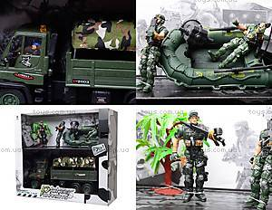 Игрушечный военный набор с солдатами, KD009-1