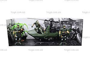 Военный набор с солдатами и машинками, KD009-5, фото