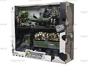 Военный набор с солдатами и машинками, KD009-5, отзывы