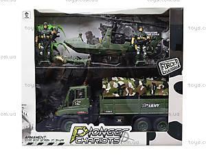 Военный набор с солдатами и машинками, KD009-5, цена