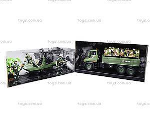 Военный набор с солдатами и машинками, KD009-5, игрушки