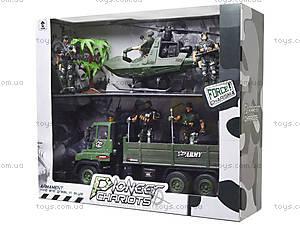Инерционный военный набор «Армия» с солдатами, KD009-6, цена