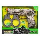 """Военный набор оружия """"Комбат"""", 3 расцветки, HY9002-566+, интернет магазин22 игрушки Украина"""