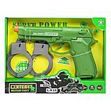Военный набор оружия (зеленый), HY9002-5/6/6+, детские игрушки