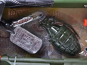 Военный набор с автоматом, 33900, цена