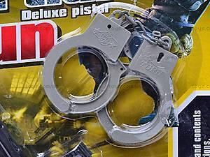 Военный набор с автоматом и наручниками, 5083, фото