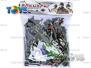 Военный набор с картой и солдатиками, 0086A, фото