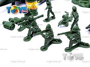 Военный набор с картой и солдатиками, 0086A, игрушки