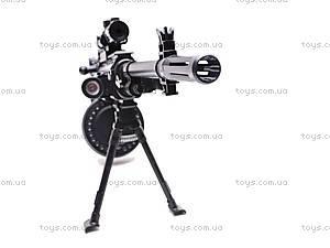 Военный набор с пулеметом, 996A, игрушки