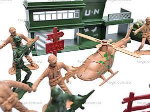 Военный набор, с солдатами, 011-3, купить