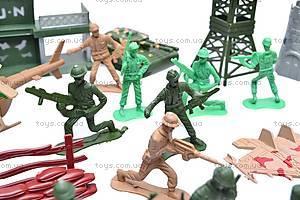 Военный набор, с солдатами, 011-3, фото