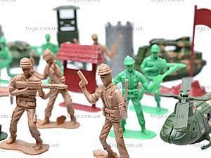Военный набор, с солдатами, 011-3, отзывы