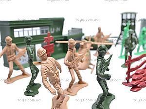 Военный набор, с солдатами, 011-3, игрушки