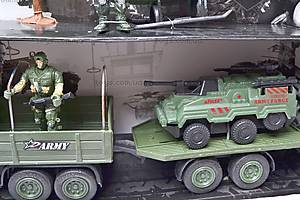 Военный набор с солдатами и техникой, KD008-4, купить