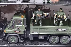 Военный набор с солдатами и техникой, KD008-4, фото