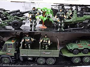 Военный набор с солдатами и техникой, KD008-4, цена