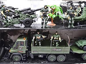 Военный набор с солдатами и техникой, KD008-4, игрушки