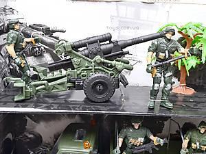 Военный набор с солдатами и техникой, KD008-4, детские игрушки