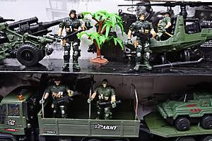 Военный набор с солдатами и техникой, KD008-4, магазин игрушек
