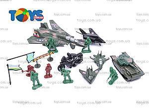 Военный набор с солдатами и оружием, 2010B2
