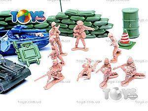 Военный набор с солдатиками и картой, 0120A, купить