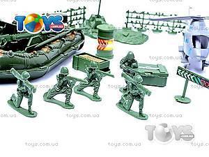 Военный набор с солдатиками и картой, 0120A, фото