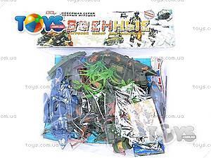 Военный набор с солдатиками и картой, 0120A, игрушки
