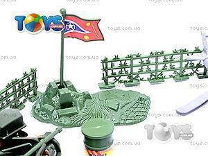 Военный набор с солдатиками и картой, 0120A, детские игрушки