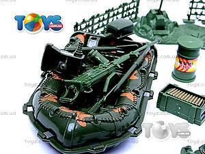 Военный набор с солдатиками и картой, 0120A, магазин игрушек