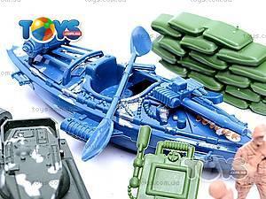 Военный набор с солдатиками и картой, 0120A, toys.com.ua