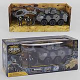 Военный набор с танком (D3109-44), D3109-44, детские игрушки