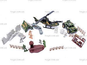 Военный набор с вертолетом, 065AB, купить