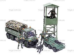 Военный набор, с вышкой, KD003-3