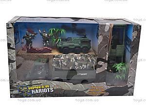 Военный набор, с вышкой, KD003-3, игрушки