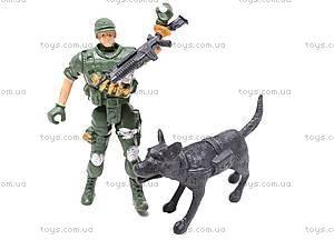 Военный набор, с вышкой, KD003-3, детские игрушки