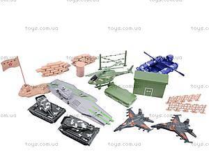 Военный набор «Смелый командир», 0147A, іграшки
