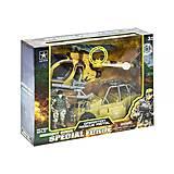 """Военный набор """"Special Force"""", с вертолетом, 6640B/6640A, детские игрушки"""
