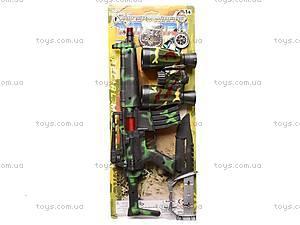 Военный набор «Спецназ», W625-25, игрушки