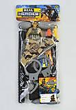 """Военный набор """"Спецотряд"""", с пулеметом, дубинкой, 88660, купити"""